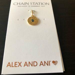 Alex and Ani evil eye pendant charm